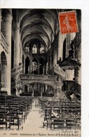 Paris Interieur De L'eglise Saint-etienne-du-mont - Churches