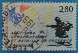 France 1994  : Débarquement Et Bataille De Provence-Août 1944 N° 2895 Oblitéré - Frankreich