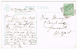 RB 1084 - 1906 Postcard In Brockwell Park London - West Norwood Squared Circle Postmark - London Suburbs