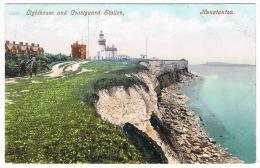 RB 1084 - Early Postcard - Hunstanton Lighthouse & Coastguard Station - Norfolk - Autres