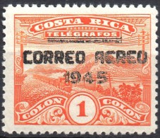 Costa Rica  Mi. 376   M. Adr. 1945  Dampfzug **/MNH - Trains