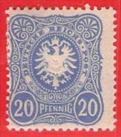 MiNr.42 X Deutschland Deutsches Reich - Unused Stamps