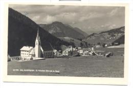 VAL GARDENA S.MARIA SELVA VIAGGIATA MANCA F,BOLLO - Bolzano (Bozen)