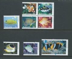 Australia 2010 Reef Fish Set Of 8 MNH - 2000-09 Elizabeth II