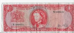 Billet - Trinité Et Tobago - Trinibad And Tobago - One Dollar - 1964 - Trinité & Tobago