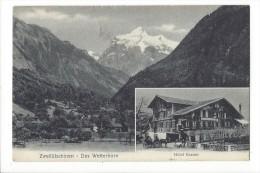 14013 -  Zweilütschinen Das Wetterhorn Hôtel Bären - BE Berne