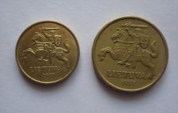 LIETUVA-  20 Centu 1997 Et 10 Centu 2007 - Lituania