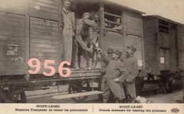 CPA * * NOISY-LE-SEC * * Guerre 1914 - Manières Françaises De Traiter Les Prisonniers - Noisy Le Sec