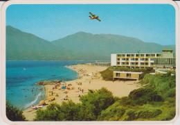 Corse :  PROPRIANO  , Une  Palge  (   Avion )   1986 - France
