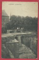 Quièvrain - La Chute D'Eau - Groupe De Gamins - 1910  ( Voir Verso ) - Quiévrain