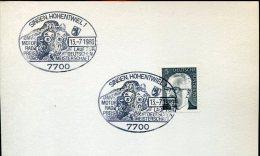 5620 Germany , Special Postmark  1980  Singen,   Motor Sport,  Motorrad Rennen - Motos