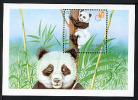 BHOUTHAN BHUTAN 1997, HONG KONG 97, Ailuropoda Melanoleuca, 1 Bloc, Neuf / Mint. R1048 - Ours