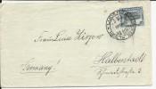 1936 - SWA (EX COLONIE ALLEMANDE) - ENVELOPPE De LUDERITZ Pour HALBERSTADT (GERMANY) - Südwestafrika (1923-1990)