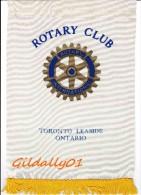 Banner:  TORONTO - LEASIDE - ANTORIO - CANADA.       * ROTARY CLUB INTERNATIONAL * - Organisations