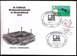 Germany Dortmund 1974 Soccer Football World Championship Germany 1974  Dortmund Westfalenstadion - Coppa Del Mondo