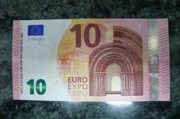 10 EURO SPAIN DRAGHI V001A1 UNC - 10 Euro