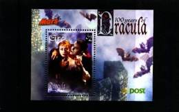 IRELAND/EIRE - 1997  DRACULA  MARS  MS MINT NH - Blocchi & Foglietti