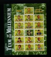 IRELAND/EIRE - 1999  TEAM OF THE MILLENIUM - GAELIC FOOTBALL  MS   MINT NH - Blocchi & Foglietti