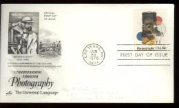FDC 1978 - Scott 1758 - Cancelled  LAS VEGAS - MATHEW B. BRADY - PHOTOGRAPHY  - CAMERA - Eerste Uitgaves (FDC)