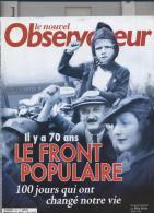 Le Nouvel Observateur   N°2164   27 Avril Au 3 Mai 2006: Le Front Populaire - Informations Générales