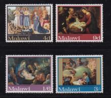 MALAWI, 1968, Mint Hinged Stamps, Christmas Paintings, 88-91 ,#4518 - Malawi (1964-...)