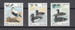 Aland 1987,3V,set,ducks,eenden,enten,birds,vogels,vögel,oiseaux,pajaros,uccelli,MNH/Postfris(A2336) - Vogels