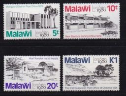 MALAWI, 1980, Mint Hinged Stamps, London 1980, 344-347, #4579 - Malawi (1964-...)