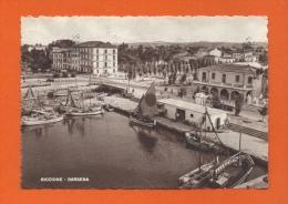 RICCIONE - DARSENA - Cartolina Tassata - Carte Taxée La Chaux-de-Fonds 1951 - Rimini