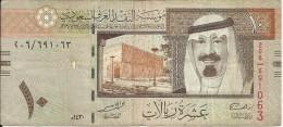 Banconota   ARABIA  SAUDITA  -  10 TEN   RIYALS - Anno 2009 - Arabia Saudita