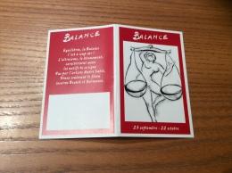 """Calendrier 2005 """"HARTMANN Signe Du Zodiaque Balance (femme Nue)"""" (10x13cm) - Small : 2001-..."""