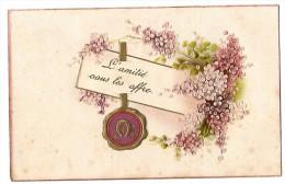 D12929 -  L' AMITIE Vous Les Offre    *bouquet De Fleurs*  Relief* - Cartes Postales