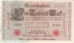 Germany - Pick 45 - 1000 Mark 1910 - VF+ - 1000 Mark