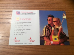 "Calendrier 2002 ""LES OPTICIENS MUTUALISTES"" (10x15,5cm) - Calendarios"