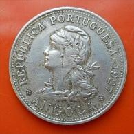 Portugal Angola 50 Centavos 1927 - Portugal