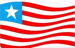 Liberia - Liberia Telecomm. Corp. - Liberian Flag - Urmet - 15.000ex, Mint