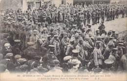 AMPLE MOISSON DE PRISONNIERS ALLEMANDS / GUERRE DE 1914 / 102 A.R - War 1914-18