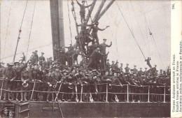 TROUPES ANGLAISES ARRIVANT EN FRANCE / GRANDE GUERRE EUROPEENNE DE 1914 / EDITION PATRIOTIQUE1764 - Guerre 1914-18