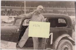 06 - Nice - Stock Cars Du 3/07/1954 - Photo Dédicacé - Photographe Olympic Photo à Nice (Course Automobile) - Automobiles
