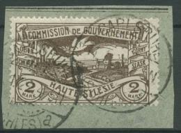 Oberschlesien CARLSRUHE A 27 Auf Briefstück (OS175) - Germany