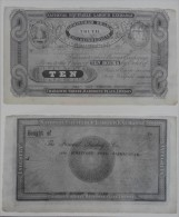 Grossbritannien Privatpapiergeld / UK Private Paper Money - 10 Hours 1833 COPY Lemberg-Zp - Altri