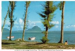 Ile Maurice - Mauritius - Le Morne Vu De La Plage De Flic-en-Flac - - Maurice