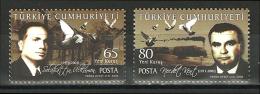 Turkey - 2008 - ( Precedent For Humanity - Birds ) - MNH (**) - 1921-... República