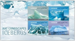 Australian Antarctic A.A.T. ( Australia) 2011 - Paysages, Icebergs - BF Neuf // Mnh - Nuovi
