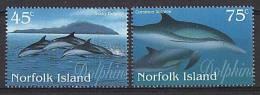 NORFOLK - 1997 - Faune Marine, Dophins - 2v Neufs *** // Mnh - Isola Norfolk