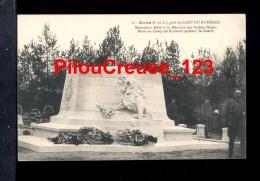 """37 Indre Et Loire - AVON - Près Du CAMP Du RUCHARD - """" Monument élevé à La Mémoire Des Soldats BELGES """" - Andere Gemeenten"""