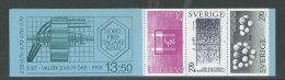 SUEDE 1983 - CARNET  YT C1244 - Facit H348 - Neuf ** MNH - Lauréats Suédois Du Prix Nobel De Chimie - 1981-..