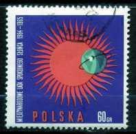 POLAND 1965 - Mi. 1606 O, International Quiet Sun Year, 1964-65   IQSY Emblem. - 1944-.... Republic