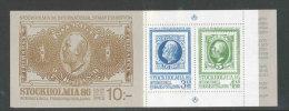 """SUEDE 1983 - CARNET  YT C1221 - Facit H345 - Neuf ** MNH - Expo """"Stockholmia' 86"""" (I) - Markenheftchen"""