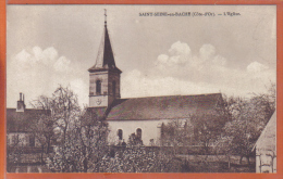 Carte Postale 21. Saint-Seine-en-Bache  L'église   ***RARE*** Trés Beau Plan - France