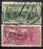 CECOSLOVACCHIA - 1934 - 20° ANNIVERSARIO DELLA LEGIONE CECOSLOVACCA DELLA PRIMA GUERRA MONDIALE - USATI - Cecoslovacchia